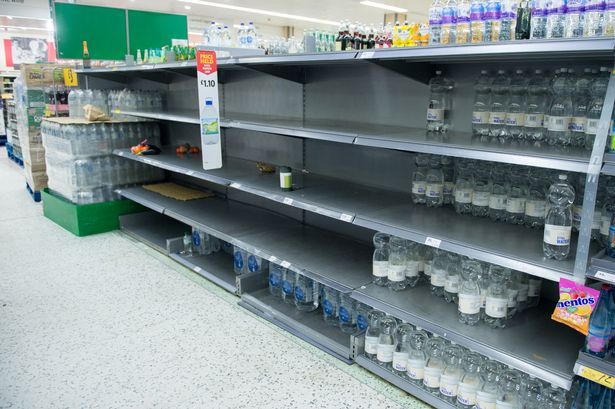 Supermarket bosses have pleaded with shoppers to stop panic buying