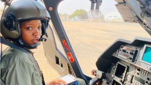 Flying Officer Tolulope Arotile, Nigeria's first female combat helicopter pilot