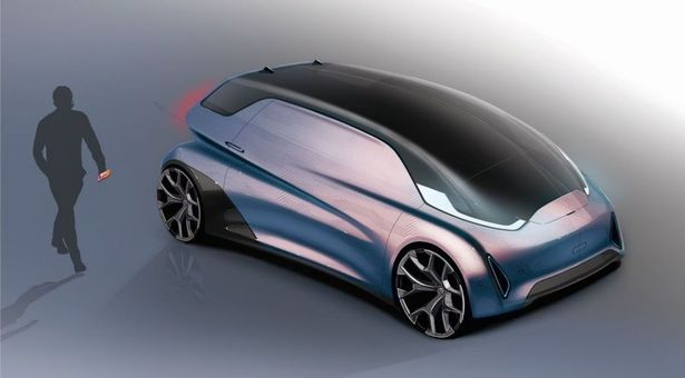 """Cars in 2050 will feature colour-changing paint and a """"bubble window"""", according to AutoTrader"""